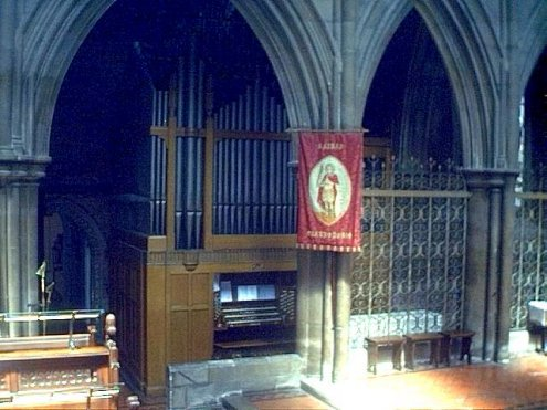 View of the Organ fron the Chancel