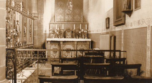 The Blessed Sacrament Chapel at St Patrick's Church