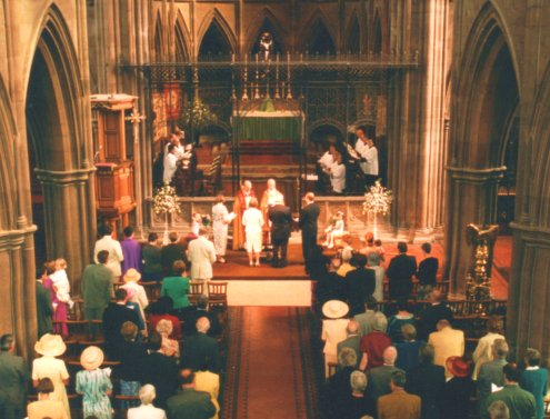 A Wedding at St Alban's Church